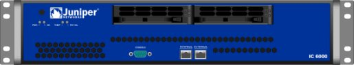 Juniper Networks model IC6000 in Visio