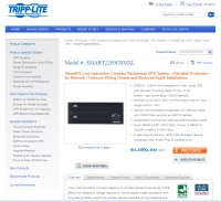 Tripp Lite product page