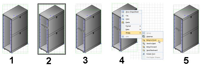 Simulating 3d With Isometric Visio Shapes Visiozone